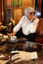 UK ENGLAND LONDON 13JAN14 - Detail of the table items at Formula One president and CEO Bernie Ecclestone's  headquarters in Knightsbridge, central London.<br /> <br /> jre/Photo by Jiri Rezac<br /> <br /> © Jiri Rezac 2014