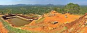 old ruins of Kassapa Sigirya Sri Lanka
