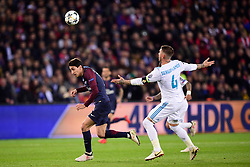 March 6, 2018 - Paris, U.S. - DI MARIA Angel (PSG) vs Sergio Ramos (Real Madrid)  during the Champions League match Real Madrid at Paris Saint-Germain on March 6, 2018 in Paris, France. (Photo by JB Autissier/Panoramic/Icon Sportswire) ****NO AGENTS---NORTH AND SOUTH AMERICA SALES ONLY****NO AGENTS---NORTH AND SOUTH AMERICA SALES ONLY* (Credit Image: © Jb Autissier/Icon SMI via ZUMA Press)