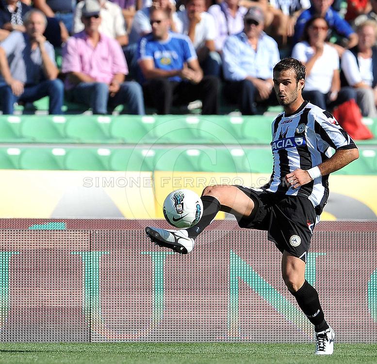Udine, 02 Ottobre 2011.Campionato di calcio Serie A 2011/2012  6^ giornata..Udinese vs Bologna. Stadio Friuli..Nella Foto: Damiano Ferronetti..© foto di Simone Ferraro