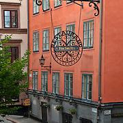 "Restaurant ""Fem Sma Hus"" (Five Small Houses) in Gamla Stan, Stockholm"