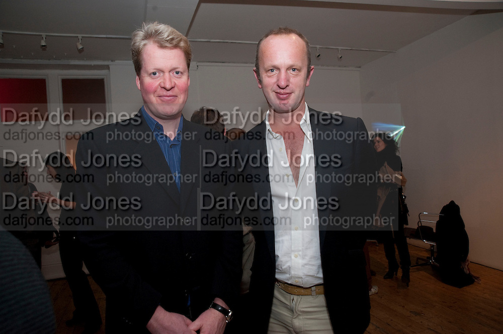 EARL OF SPENCER; JOHNNIE SHAND KYDD, The  launch of Johnnie Shand Kydd's book Siren City. ( Photographs of Naples) Claire<br /> de Rouen books published  by Other Criteria. Charing Cross Rd. London. 30 November 2009