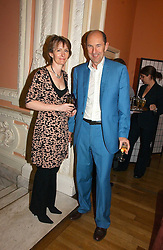 ROBIN WIGHT and his wife JANE MORGAN at a party to celebrate the publication of 'A Much Married Man' by Nicholas Coleridge held at the ESU, Dartmouth House,  37 Charles Street, London W1 on 4th May 2006.<br /><br />NON EXCLUSIVE - WORLD RIGHTS
