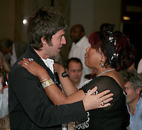 Noel Gallagher and Linda Lewis