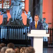 NLD/Den Haag/20180323 - Huldiging Olympische en Paralympische medaillewinnaars, Hugo de Jonge