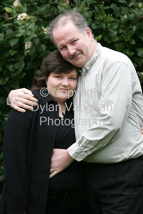 4/2/2006.Tracy Culleton and Peter Harris pictured at their home in Palantine County Carlow..Picture Dylan Vaughan.