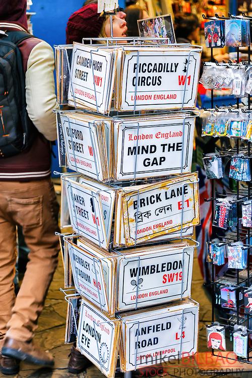 Portobello Market. London, England, United kingdom, Europe.