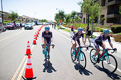 Trek-Drops Cycling Team rides cool down after Stage 1 of the Amgen Tour of California - a 124 km road race, starting and finishing in Elk Grove on May 17, 2018, in California, United States. (Photo by Balint Hamvas/Velofocus.com)