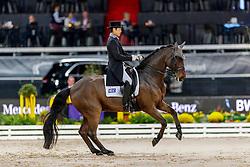 Hwang Young-Shik, NOR, Despino 15<br /> Stuttgart - German Masters 2019<br /> © Hippo Foto - Stefan Lafrentz