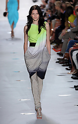 Diane Von Furstenberg show  at  New York Fashion Week  Sunday, 9th September 2012. Photo by: Stephen Lock / i-Images