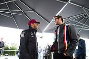 June 9-12, 2016: Canadian Grand Prix. Lewis Hamilton (GBR), Mercedes and Tom Brady