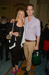 DAN & LADY EDWINA SNOW at a party to celebrate the publication of The Romanovs 1613-1918 by Simon Sebag-Montefiore held at The Mandarin Oriental, 66 Knightsbridge, London on 2nd February 2016.