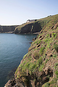 Warden's house and study centre Skomer Island, Pembrokeshire, Wales