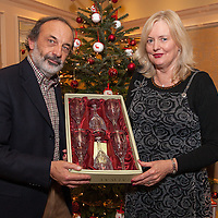 Paul Guckian of the Ennis Mental Heatlh Association, New Horizons, presenting an award to Vera Moloney marking her 21 years of Volunteering with the Mental Health Association