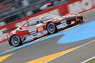June 13th 2010, 24h Le Mans, Ferrari F430 GTC, AF Corse SRL Team, Jean Alesi (FRA)
