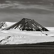 Nordenskioldbreen Glacier and Terrierfjellet