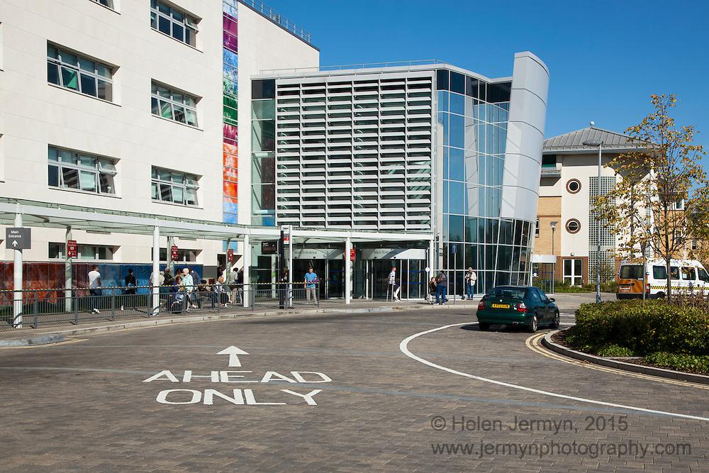 Entrance, Broomfield Hospital, Chelmsford