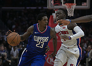 Detroit Pistons v Los Angeles Clippers - 28 Oct 2017