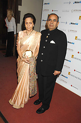 MR & MRS GOPICHAND HINDUJA at the 2nd Fortune Forum Summit and Gala Dinner held at the Royal Courts of Justice, The Strand, London on 30th November 2007.<br /><br />NON EXCLUSIVE - WORLD RIGHTS