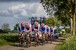 Cycling Team Jo Piels (CJP) winners of Time Trail, Stage 2: Team Time Trial, 62th Olympia's Tour, Netterden, The Netherlands, 13th May 2014, Photo by Pim Nijland / Peloton Photos