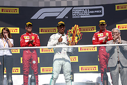 June 9, 2019 - Montreal, Canada - Motorsports: FIA Formula One World Championship 2019, Grand Prix of Canada, ..#44 Lewis Hamilton (GBR, Mercedes AMG Petronas Motorsport) (Credit Image: © Hoch Zwei via ZUMA Wire)