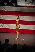Araceli Velazquez competes in the NPC Mid-Illinois in Ottowa Saturday, April 1, 2017. Photo by Rob Hart & Monika Wnuk