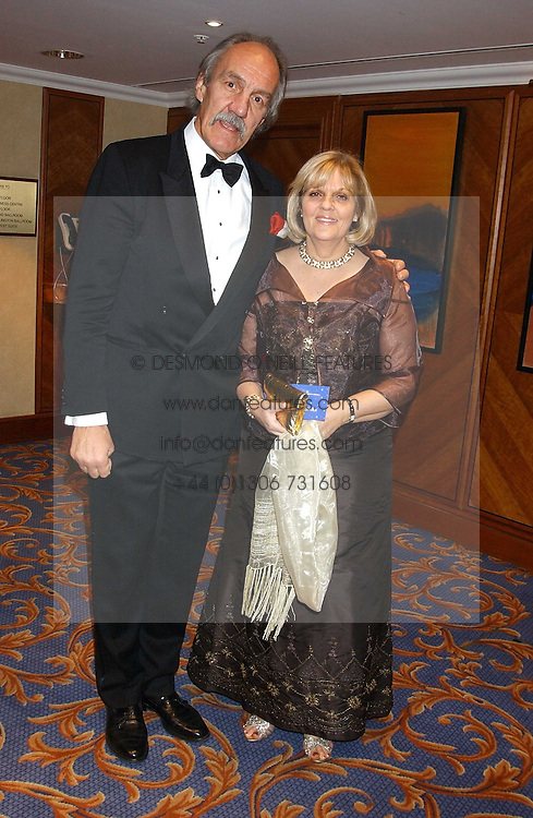 MR & MRS ROGER UTTLEY at the annual SPARKS Winter Ball in the presence of HRH Princess Michael of Kent held at the London Hilton Hotel, Park Lane, London W1 on 15th December 2005.<br /><br /><br />NON EXCLUSIVE - WORLD RIGHTS