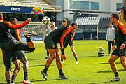 Netherlands Defender Virgil van Dijk (Liverpool) during the Netherlands training session ahead of the Nations League Semi-Final against England at Estadio D. Afonso Henriques, Guimaraes, Portugal on 5 June 2019.