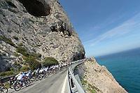 Illustration Peloton  - 10.05.2015 - 2eme etape du Giro 2015<br />Photo : Sirotti / Icon Sport