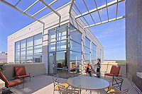 District of Columbia Photographer architectural image of Maryland apartment building terrace by commercial photographics, Jeffrey Sauers