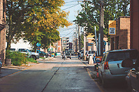 Alleys in Traverse City, Michigan on October 9, 2018 (Gary L Howe) Downtown: Union Street