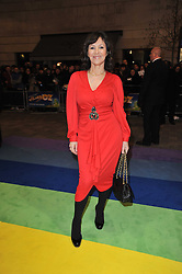 ARLENE PHILLIPS arrives at the press night of the new Andrew Lloyd Webber  musical 'The Wizard of Oz' at The London Palladium, Argylle Street, London on 1st March 2011 followed by an aftershow party at One Marylebone, London NW1