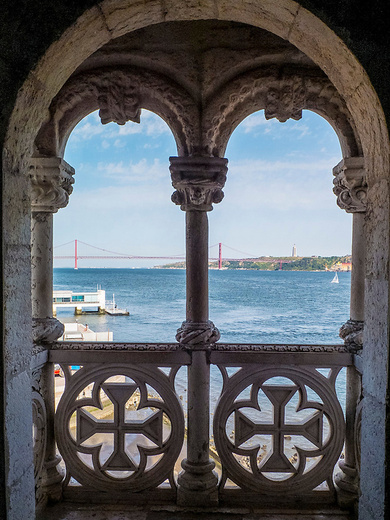Belém Tower. The Tower was classified as a UNESCO World Heritage Site in 1983 and included in the registry of the Seven Wonders of Portugal in 2007. It was built in the early 16th century and is a prominent example of the Portuguese Manueline style.