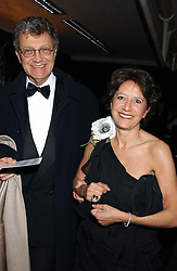 The HON.WILLIAM & HON.MRS SHAWCROSS, she is the daughter of Lord Forte at the Conservative Party's Black & White Ball held at Old Billingsgate, 16 Lower Thames Street, London EC3 on 8th February 2006.<br /><br />NON EXCLUSIVE - WORLD RIGHTS
