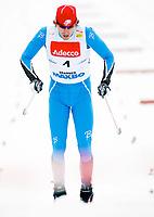 Langrenn Klassisk Sprint 1,2km , FIS World Cup Cross-Country , Drammen 05. Mars 2008 , Andrew Newell USA , Foto: Thomas Andersen , Digitalsport