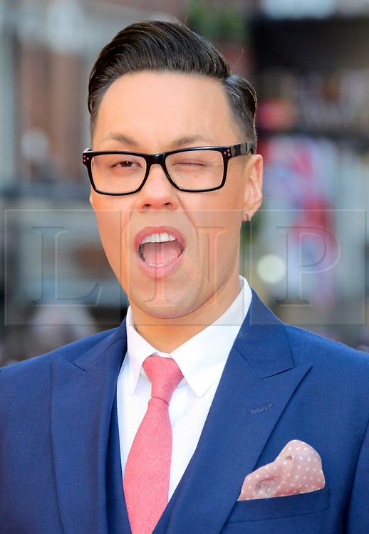 © Licensed to London News Pictures. 13/04/2014, UK. Gok Wan, The Laurence Olivier Awards, Royal Opera House, London UK, 13 April 2014. Photo credit : Richard Goldschmidt/Piqtured/LNP