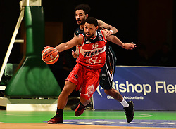 Jordan Davis of Bristol Flyers - Photo mandatory by-line: Alex James/JMP - 25/02/2018 - BASKETBALL - Plymouth Pavilions - Plymouth, England - Plymouth Raiders v Bristol Flyers - British Basketball League
