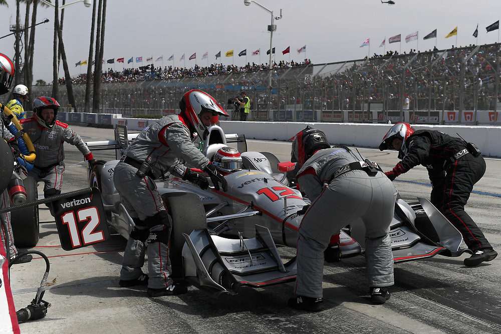 Will Power, Toyota Grand Prix of Long Beach, Streets of Long Beach, April 9, 2017, Long Beach, CA USA