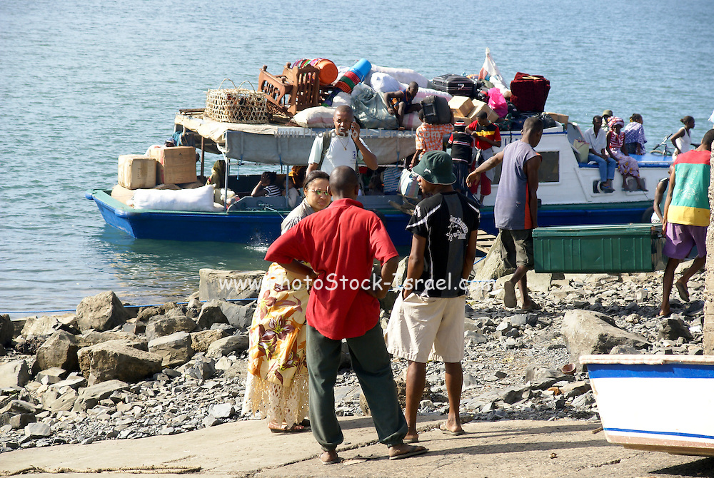 Madagascar, Ankify The harbour that connects the main island to Nosy Be and Nosy Komba