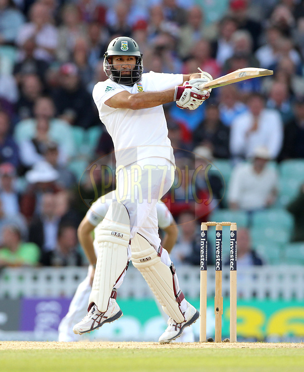 © Andrew Fosker / Seconds Left Images 2012 - South Africa's Hashim Amla pulls  England v South Africa - 1st Investec Test Match -  Day 2 - The Oval  - London - 20/07/2012
