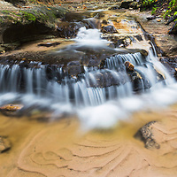 Side cascade at Wagner Falls, near Munising, MI