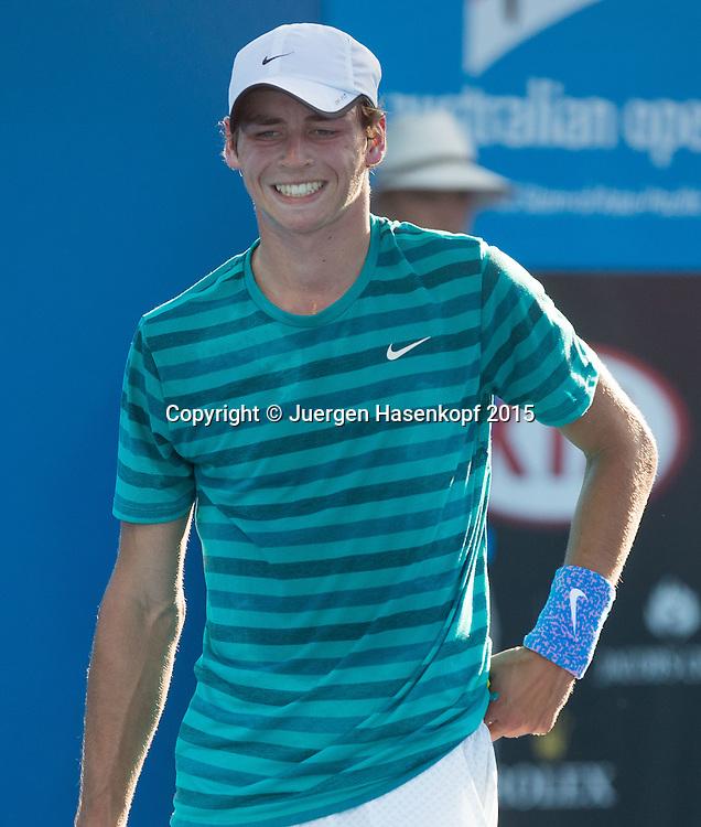 Florian Fallert (GER)<br /> <br />  - Australian Open 2015 -  -  Melbourne Park Tennis Centre - Melbourne - Victoria - Australia  - 24 January 2015. <br /> &copy; Juergen Hasenkopf