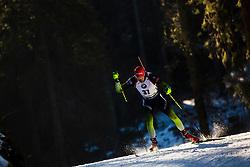 Rok Trsan (SLO) during the Men 20 km Individual Competition at day 1 of IBU Biathlon World Cup 2019/20 Pokljuka, on January 23, 2020 in Rudno polje, Pokljuka, Pokljuka, Slovenia. Photo by Peter Podobnik / Sportida