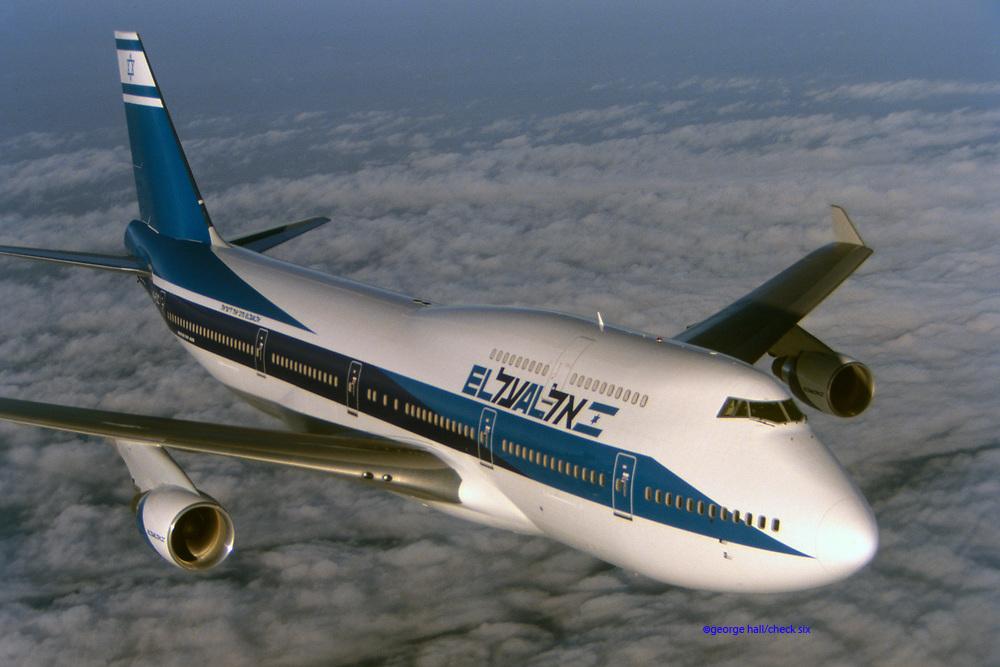 Boeing 747-400, El Al