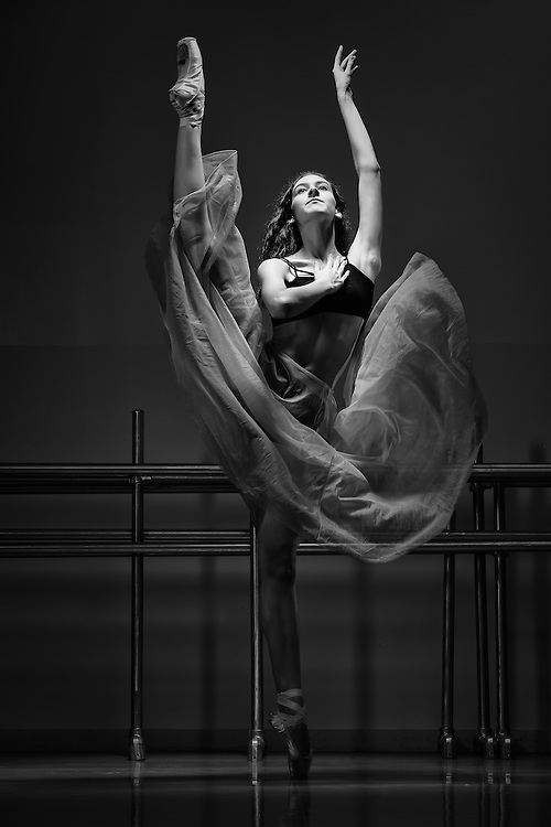 Dance As Art Studio Photography Series with ballerina Erin Aslami