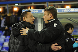 Doncaster Rovers Manager, Paul Dickov and Birmingham City Manager, Lee Clark  - Photo mandatory by-line: Alex James/JMP - Tel: Mobile: 07966 386802 03/12/2013 - SPORT - Football - Birmingham - St Andrews - Birmingham City v Doncaster Rovers - Sky Bet Championship