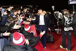 March 15, 2019 - Lille, France, FRANCE - Arrivee au Stade des joueurs Lillois.Thiago Maia Alancar  (Credit Image: © Panoramic via ZUMA Press)