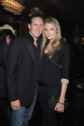 Dancer BRENDAN COLE and GABRIELLA ANSTRUTHER-GOUGH-CALTHORPE at the grand opening of the Amika nightclub, 65 High Street Kensington, London on 28th February 2007.<br />