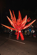 El Fuego by MIke Daniels in 2011. Bridgwater Carnival is an annual event to raise money for local charities. It is widely reputed to be the largest illuminated carnival in the world.
