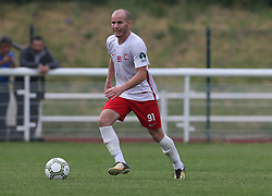 May 31, 2018 - London, England, United Kingdom - Kaya Unal of Northern Cyprus.during Conifa Paddy Power World Football Cup 2018  Group B match between Northern Cyprus against Karpatalya at Queen Elizabeth II Stadium (Enfield Town FC), London, on 31 May 2018  (Credit Image: © Kieran Galvin/NurPhoto via ZUMA Press)